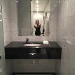 Huge marble bathroom