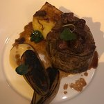 Fillet of beef with ox tongue and fondant potato
