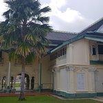 the back view of Balai Besar, Alor Setar