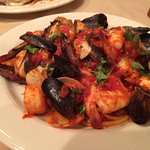 Gioia del Mare - Sea Scallops, Shrimp, Mussels, Clams over Pasta