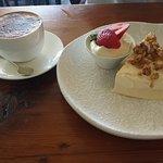 Dessert - Carrot and Walnut cake