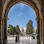 Dome of the rock from al Aqsa