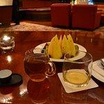 お酒とフルーツと中国茶