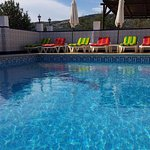 Dip and enjoy our heated pool