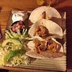 Shrimp Tacos - The Clam House, Palmetto FL