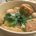 Fish balls in soup