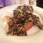 filetto con funghi e gorgonzola