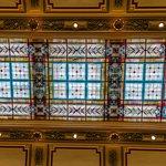 Skylight in lower lobby