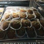 Finikia (walnut honey cookies) - so good