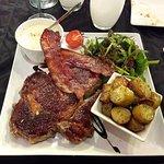 Assiette parisienne (entrecôte)
