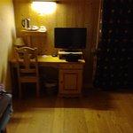 Un aperçu de la chambre.
