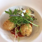 Deep fried Goat cheese