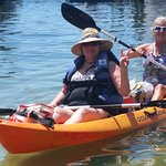 Kayaking is relaxing for anyone! Come see our new kayaks modified for fishing!