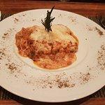 Delicious lasagne