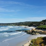 Morning views of Carmel Beach