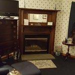 Thoreau Falls room, sitting area facing fireplace.