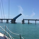 Bay drawbridge