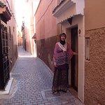 The Riad's front door.