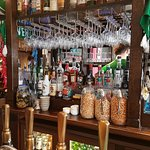 Well stocked bar