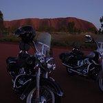 See Uluru sunrise by Harley Davidson
