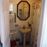 Room #3 (bathroom photo), main house, overlooking the lake, queen bed, private bath