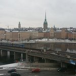 March 7 2017 am Stockholm covered by snow