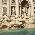 Trevi Fountain (we parked just steps away fromthe fountain)