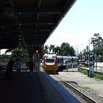 Train aproaching Townsville
