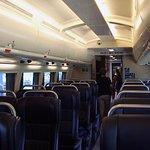 Seat of Premium Economy class