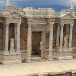 Hierapolis one of the three biggest  theater in Turkey