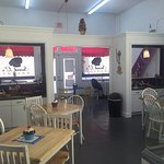 Sweet L's has indoor and outdoor seating