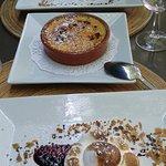notre trio de dessert, pour 2 :D
