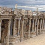 Amazing atmosphere. 3 Rome emperor visit here just imagine...