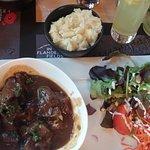 Food from Flanders Field Museum restaurant