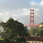 spectacular view of Golden Gate Bridge