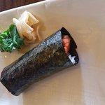 Spicy tuna handroll