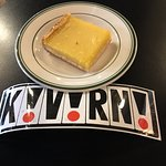 Lemon bar and keepsake for those memories of the past