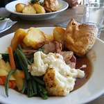 This was my very tasty Sunday roast dinner today yum yum x