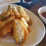 Vegetable tempura YUMMY!