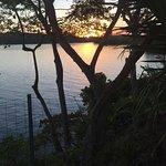 Sunset overlooking the Gulf