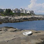 The gorgeous view at Nubble Lighthouse!