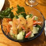 Cucumber Salad at Thaicoon & Sushi Bar
