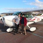 Our very nice pilot : Nardia
