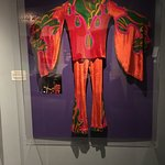 Jimi Hendrix outfit... the exhibits were amazing