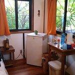 Refridgerator in room