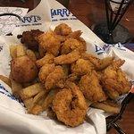 Jumbo fried shrimp basket
