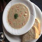 Seafood chowder, Longwood Brew Pub & Restaurant,  5775 Turner Rd, Nanaimo, British Columbia