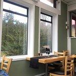 View of interior, Beach House Cafe, 2775 Island Hwy, Qualicum Beach,
