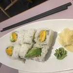 Mango roll, Sushi Hama, 221 Second Ave W | #14, Qualicum Beach, British Columbia