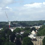 View of Clifton Suspension Bridge from the tower